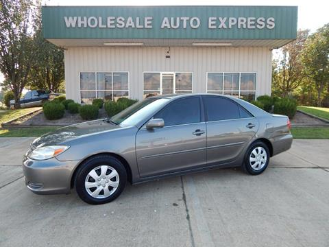 2003 Toyota Camry for sale at WHOLESALE AUTO EXPRESS in Columbus MS