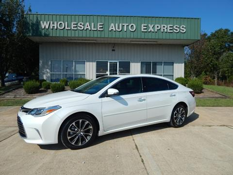 2016 Toyota Avalon for sale at WHOLESALE AUTO EXPRESS in Columbus MS