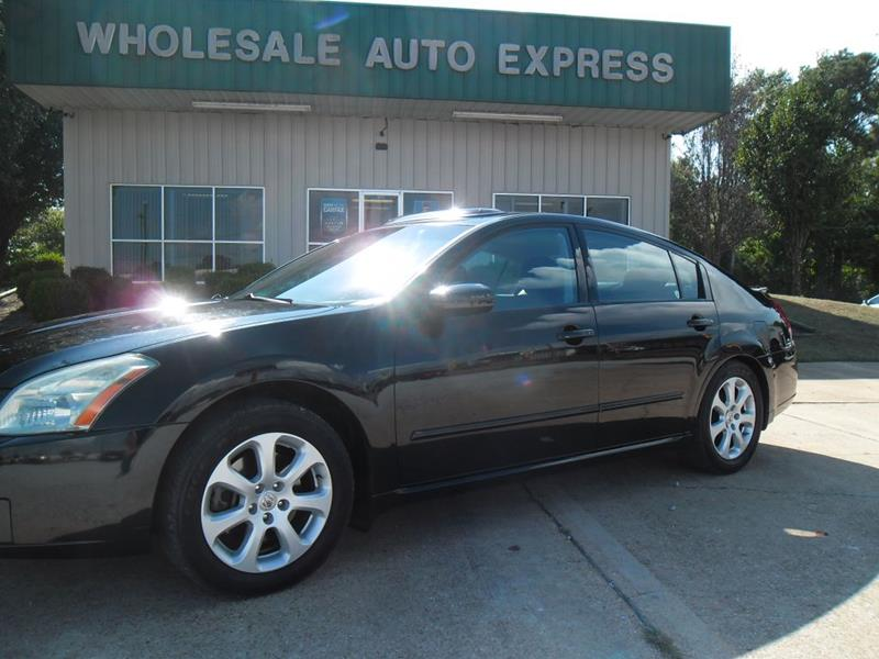 2008 Nissan Maxima For Sale At WHOLESALE AUTO EXPRESS In Columbus MS