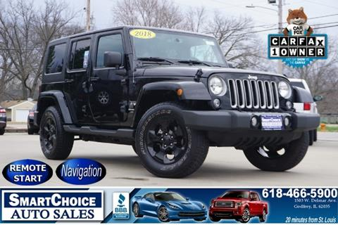 2018 Jeep Wrangler Unlimited for sale in Godfrey, IL