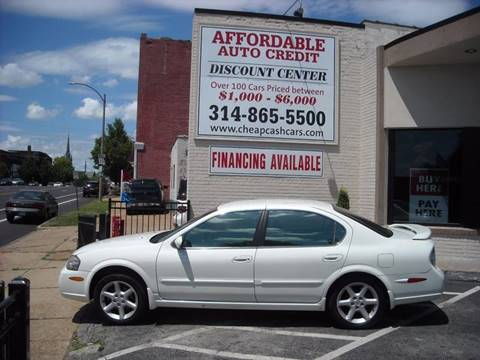 2002 Nissan Maxima for sale in St. Louis, MO