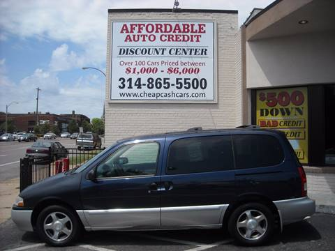 2002 Nissan Quest for sale in St. Louis, MO