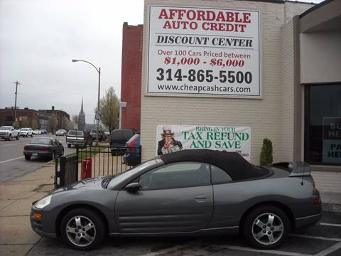 2003 Mitsubishi Eclipse Spyder for sale in St. Louis, MO