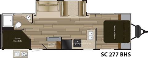 2018 Cruiser RV 277BHS