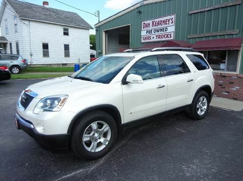 2009 GMC Acadia for sale in Center Rutland, VT