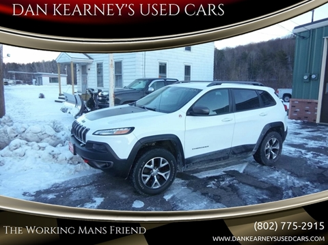 2014 Jeep Cherokee for sale in Center Rutland, VT