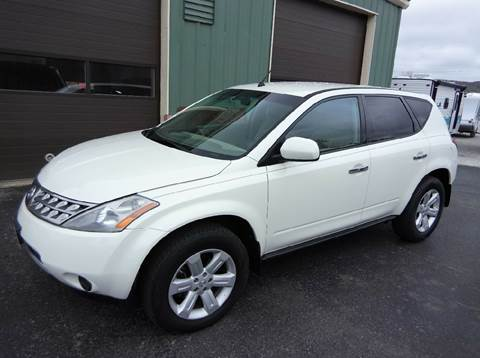 2007 Nissan Murano for sale in Center Rutland, VT