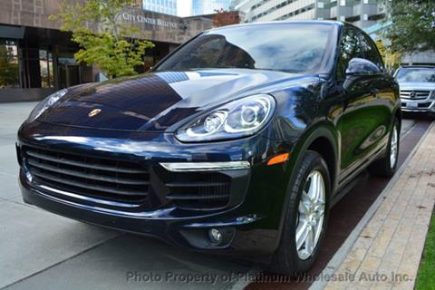 2015 Porsche Cayenne for sale in Bellevue, WA