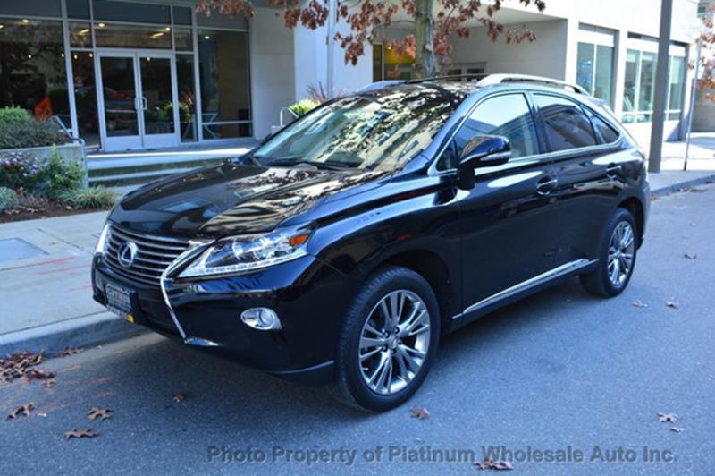 2013 Lexus Rx 450h Awd 4dr Suv In Bellevue Wa Platinum Autos