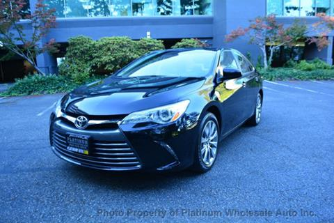 Superior 2015 Toyota Camry For Sale In Bellevue, WA