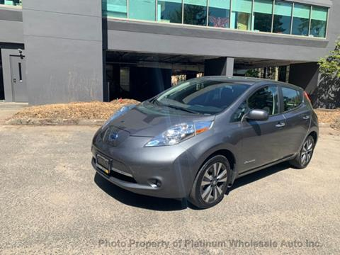 2017 Nissan LEAF for sale in Bellevue, WA