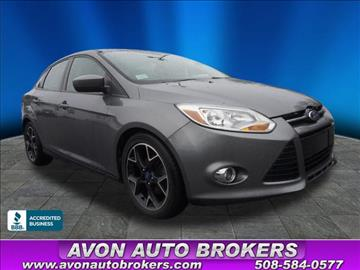 2012 Ford Focus for sale in Avon, MA