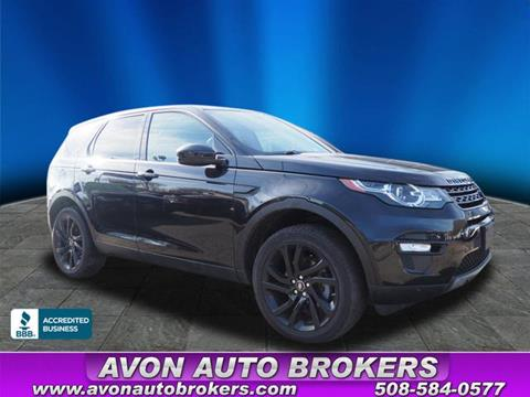 2017 Land Rover Discovery Sport for sale in Avon, MA