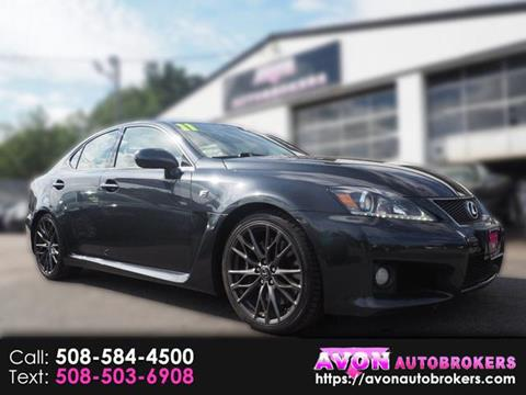 2011 Lexus IS F For Sale In Avon, MA
