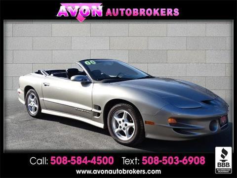 2000 Pontiac Firebird for sale in Avon, MA