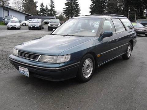 1993 Subaru Legacy for sale at G&R Auto Sales in Lynnwood WA