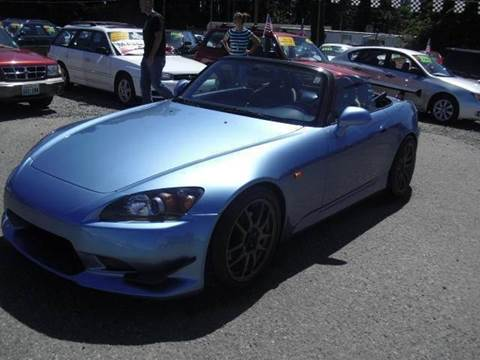 2003 Honda S2000 for sale at G&R Auto Sales in Lynnwood WA