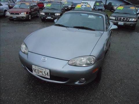 2002 Mazda MX-5 Miata for sale at G&R Auto Sales in Lynnwood WA
