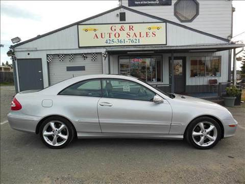 2004 Mercedes-Benz CLK-Class for sale at G&R Auto Sales in Lynnwood WA