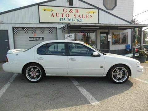 1999 Nissan Maxima for sale at G&R Auto Sales in Lynnwood WA