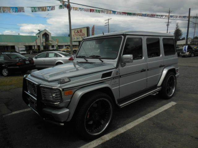 2005 Mercedes-Benz G-Class for sale at G&R Auto Sales in Lynnwood WA