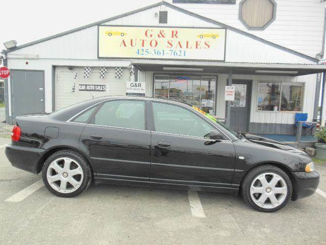 2001 Audi S4 for sale at G&R Auto Sales in Lynnwood WA