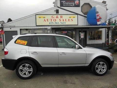 2005 BMW X3 for sale at G&R Auto Sales in Lynnwood WA