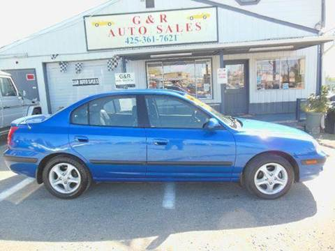 2004 Hyundai Elantra for sale at G&R Auto Sales in Lynnwood WA