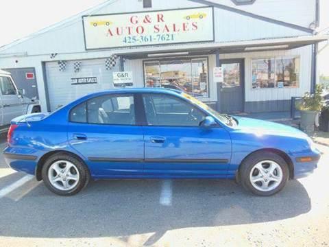 2004 Hyundai Elantra for sale at G&R Auto Sales in Lynnwood WA