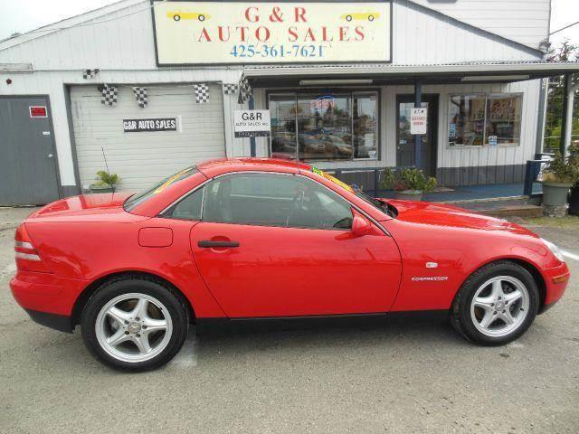 2000 Mercedes-Benz SLK-Class for sale at G&R Auto Sales in Lynnwood WA