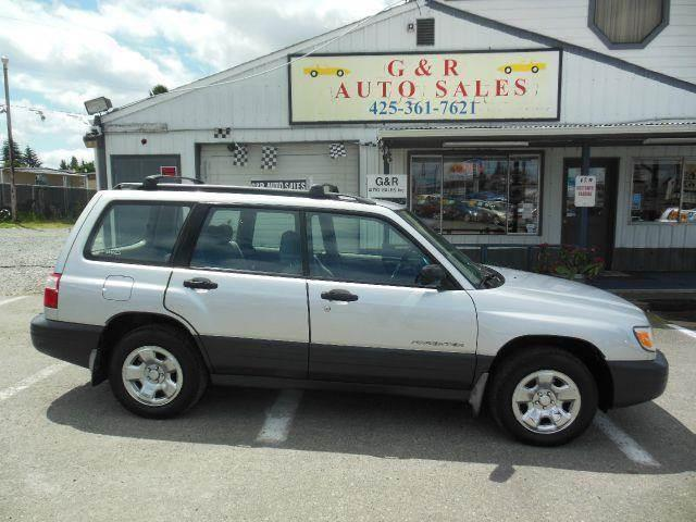 2002 Subaru Forester for sale at G&R Auto Sales in Lynnwood WA