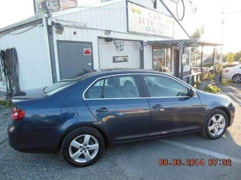 2008 Volkswagen Jetta for sale at G&R Auto Sales in Lynnwood WA