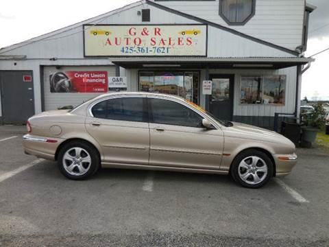 2002 Jaguar X-Type for sale at G&R Auto Sales in Lynnwood WA