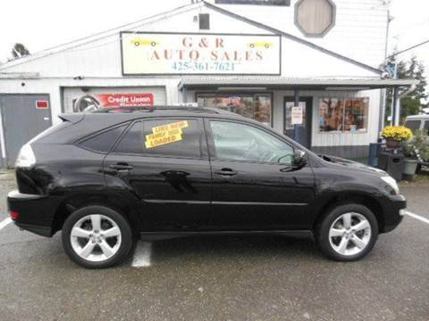 2005 Lexus RX 330 for sale at G&R Auto Sales in Lynnwood WA