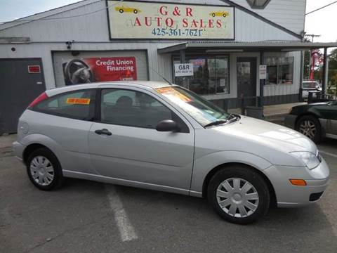 2006 Ford Focus for sale at G&R Auto Sales in Lynnwood WA