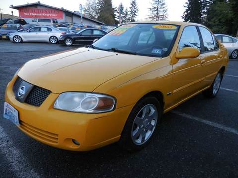 2006 Nissan Sentra for sale at G&R Auto Sales in Lynnwood WA