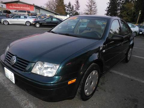 2002 Volkswagen Jetta for sale at G&R Auto Sales in Lynnwood WA