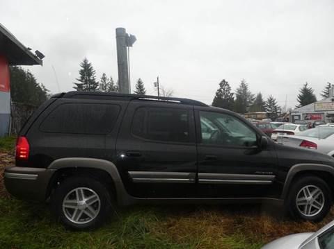 2003 Isuzu Ascender for sale at G&R Auto Sales in Lynnwood WA