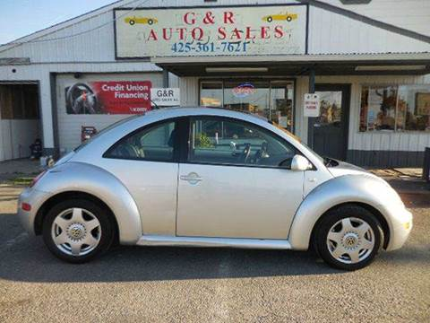 2001 Volkswagen New Beetle for sale at G&R Auto Sales in Lynnwood WA