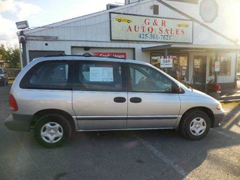 2000 Dodge Caravan for sale at G&R Auto Sales in Lynnwood WA