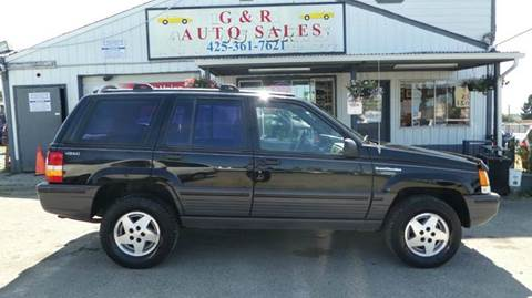 1995 Jeep Grand Cherokee for sale at G&R Auto Sales in Lynnwood WA