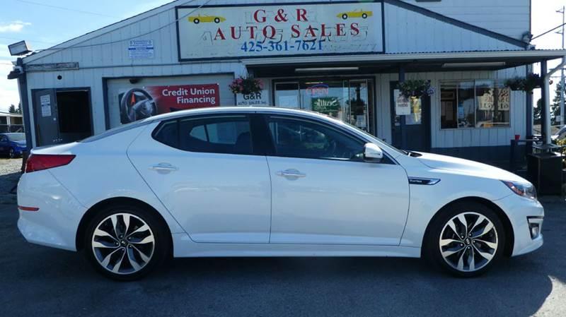 2014 Kia Optima for sale at G&R Auto Sales in Lynnwood WA
