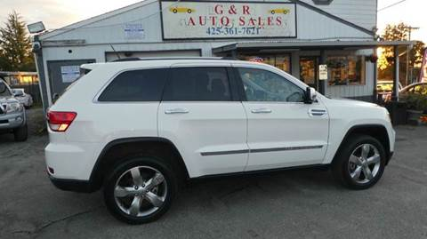 2012 Jeep Grand Cherokee for sale at G&R Auto Sales in Lynnwood WA