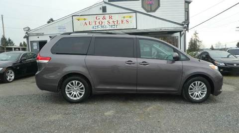 2014 Toyota Sienna for sale at G&R Auto Sales in Lynnwood WA