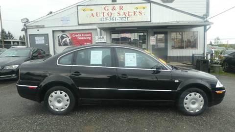 2001 Volkswagen Passat for sale in Lynnwood, WA