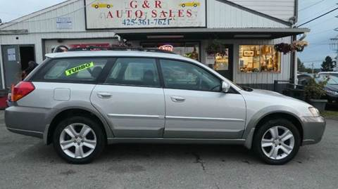 2005 Subaru Outback for sale at G&R Auto Sales in Lynnwood WA