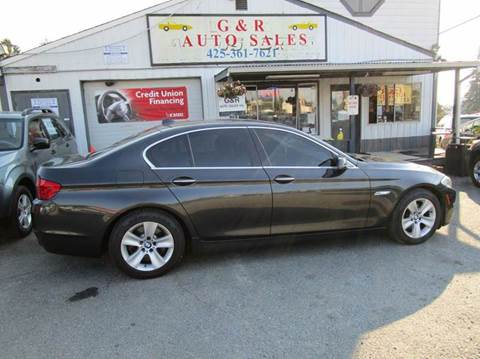 2011 BMW 5 Series for sale at G&R Auto Sales in Lynnwood WA