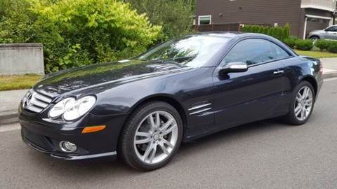 2008 Mercedes-Benz SL-Class for sale at G&R Auto Sales in Lynnwood WA