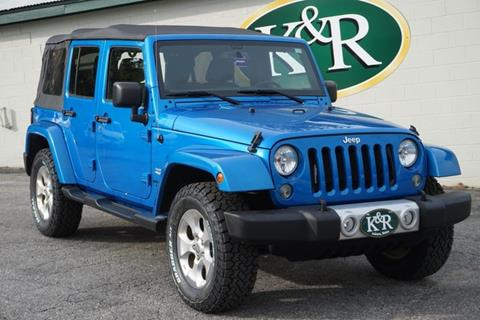 2015 Jeep Wrangler Unlimited for sale in Auburn, ME