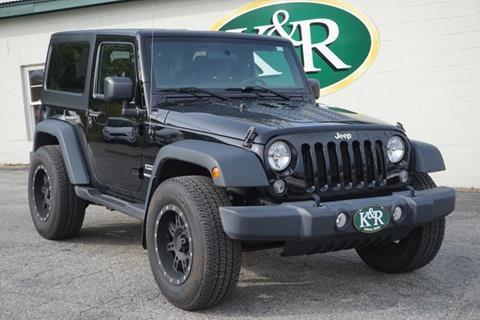 2015 Jeep Wrangler for sale in Auburn, ME